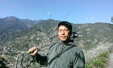台大实验林管处吴立伟博士。〈吴立伟提供图片〉