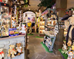 中世纪风情中一抹童趣:罗滕堡泰迪熊商店