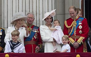 英國王室成員說話有其偏好使用或避免使用的特定字彙。圖為威廉王子等英國王室成員。(JUSTIN TALLIS / AFP)