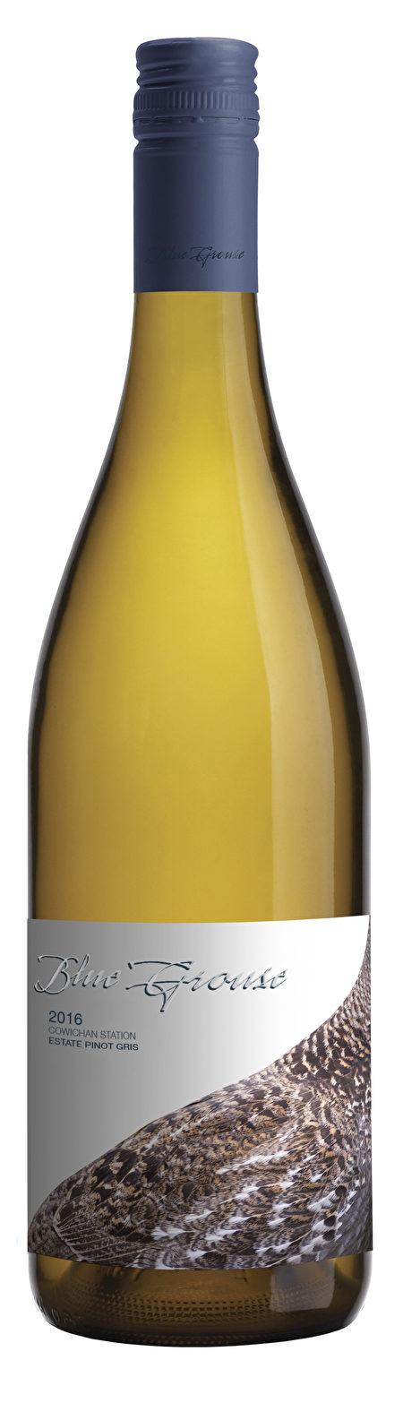 酒目:Blue Grouse Pinot Gris 2016 。每瓶约 $22.00(阮公子提供)