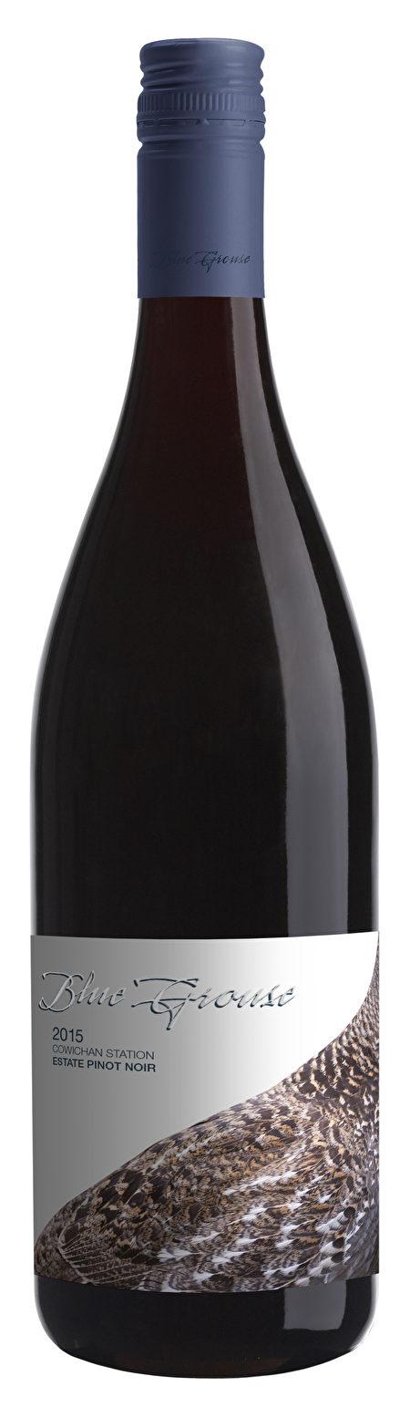 酒目:Blue Grouse Pinot Noir 2015 。每瓶约 $26.00(阮公子提供)