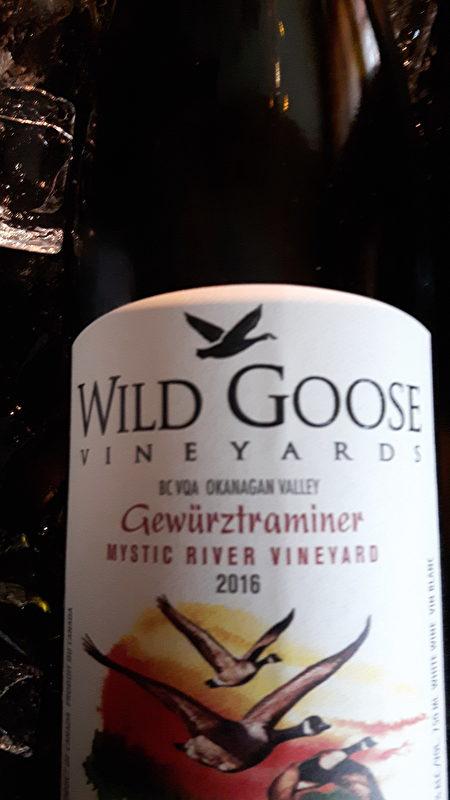 酒目:Wild Goose VQA Gewurztraminer 2016。售价约$20(阮公子提供)