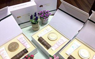 G&M公司推出的母亲节礼盒套装。(G&M提供)