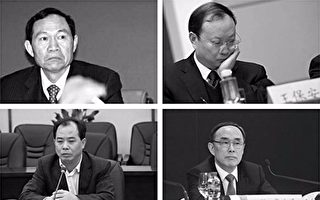 5月31日,江派六高官同日獲刑,三人被判無期。(大紀元合成)