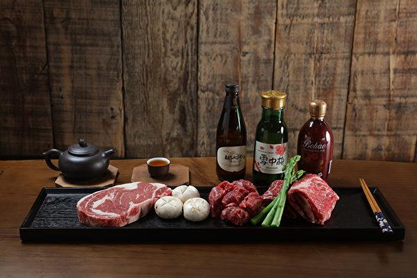 干式熟成、清修过的牛肉。(张学慧/大纪元)