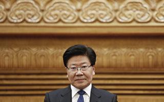 10月25日,中共官方公布了25名中央政治局委員名單。前新疆書記張春賢沒有出現在新一屆政治局委員名單中。(Lintao Zhang/Getty Images)