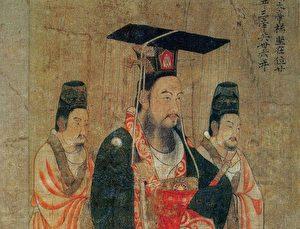 隋皇鏡鑒(4)君臣賞奇梅