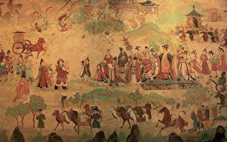 隋煬帝巡狩天下揚威西域(網路圖片)