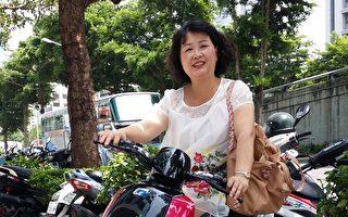 雅芳化妆品公司总监张惠翔。(张惠翔提供)