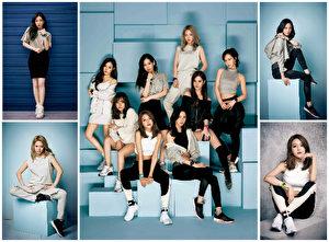 少时成员(图)拍摄名表品牌2017年春夏新品全新形象照。(BABY-G公关/大纪元合成)
