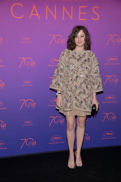 第70届戛纳电影节(Festival de Cannes)举行开幕仪式。