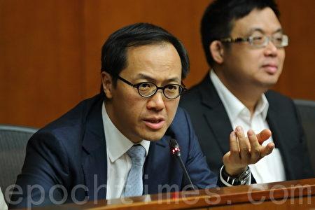 梁继昌表明不会退出专责委员会。(蔡雯文/大纪元)
