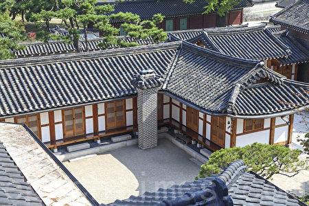 韓國首爾北村韓屋村風景。(全景林/大紀元)