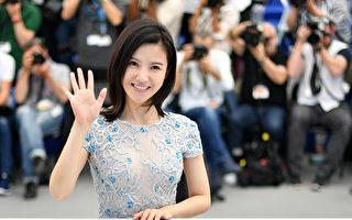 杨子姗在第70届戛纳影展。(LOIC VENANCE/AFP/Getty Images)