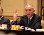 5月27日,北京市市长蔡奇(图右)接替郭金龙任市委书记。(大纪元资料室)