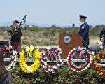 2017年5月29日是美国阵亡将士纪念日。加州圣地亚哥密若玛国家公墓(Miramar National Cemetery)举行纪念仪式。(杨婕/大纪元)