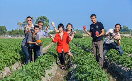 雲林農夫成為年輕人回鄉的新希望。(台灣幫棒農提供)