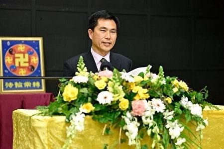 昆士蘭法輪功學員斯蒂文博士(Steven Zhang)