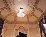 威爾獨奏廳(Weill Recital Hall)是卡內基音樂廳的小廳,古樸肅穆。(作者提供)