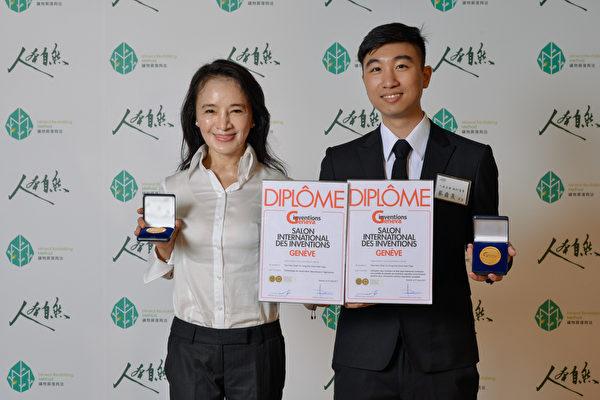 人本自然創辦人吳宥彤(左1)帶領團隊,以礦物質復育來改善地力,讓作物生長良好,同時也增加產量。(縱橫公關提供)