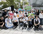 """新竹的""""经国绿园道""""周末开甜点微醺派对,超过40间在地甜点名店与精酿啤酒商进驻,现场还有街头艺人、爵士音乐等表演。(新竹市府提供)"""