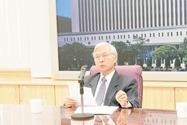 央行副總裁楊金龍表示,外匯市場的外資進出狀況,央行都有注意。(大紀元記者郭曜榮台灣台北報導)責任編輯:呂美琪