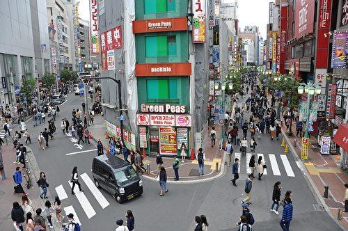 新宿街头。(ribbons6775/CC/Pixabay)