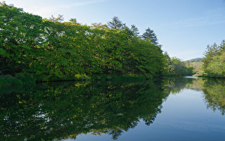 日本最富盛名的避暑勝地輕井澤,在這裡讓你完全被美麗的自然風光所包圍,如同置身世外桃源。(遊沛然/大紀元)
