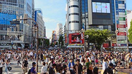 涩谷街头,人潮拥挤。(cegoh/CC/Pixabay)