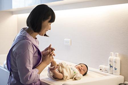 全護理師照護,讓媽媽更放心!(國泰台北會館提供)
