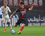 出生於1996年4月26日的小將鈴木優磨年僅20歲就在世俱盃上嶄露頭角 。(Photo by Masashi Hara/Getty Images)