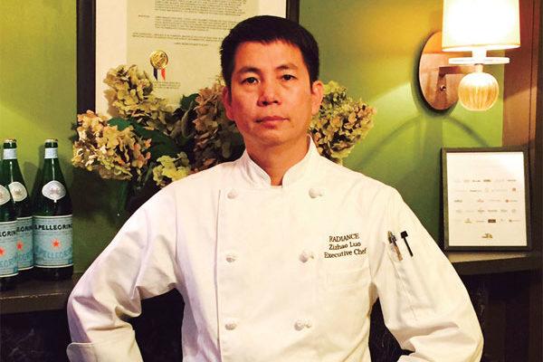 第四屆新唐人全世界中國菜廚技大賽粵菜金獎得主羅子昭。(羅子昭提供)
