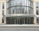 昨天(5月25日),一起华人利用空头支票,骗银行钱的案件在纽约东区联邦地区法院开庭。 (大纪元资料库)