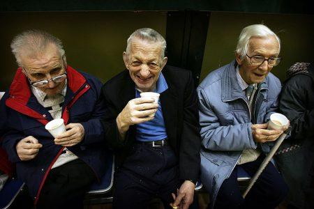 纽约州养老基金价值创造了新纪录。 (Christopher Furlong/Getty Images)