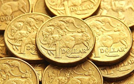 在今年第二季度内,在10个主要国家的货币中,澳元是表现最差的货币。 (Scott Barbour/Getty Images)