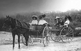 淘金时代澳洲华人团体的生活状态。(Mercure ballarat提供)