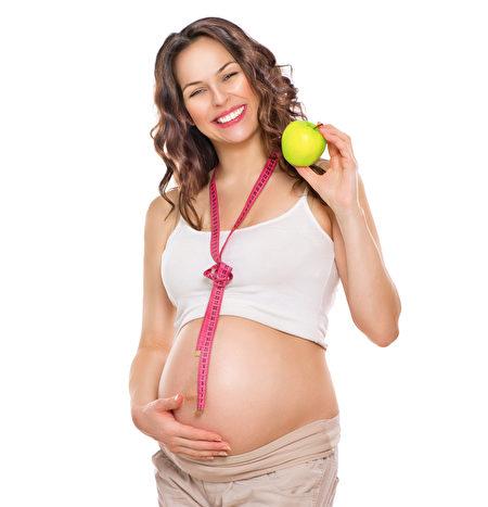 孕妇在怀孕期间刻意减肥会影响孩子的先天发育。(Fotolia)
