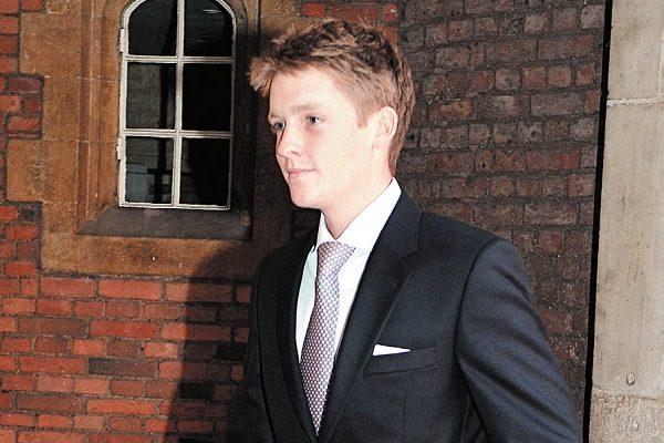 26 岁的威斯敏斯特公爵休• 格罗夫纳是英国最有钱的十个人中唯一一个 土生土长的英国人。(JOHN STILLWELL/AFP/Getty Images)