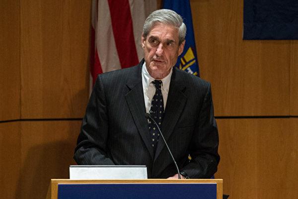 週三(5月17日),美國司法部任命前聯邦調查局(FBI)局長穆勒(Robert Mueller)為特別檢察官,負責調查俄羅斯影響去年美國總統選舉的指稱。(Photo by Andrew Burton/Getty Images)