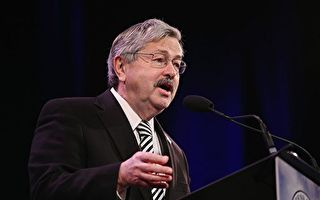 美國參議院5月22日投票通過了川普(特朗普)總統提名的愛荷華州長布蘭斯塔德(Terry Branstad)出任駐華大使。(Scott Olson/Getty Images)