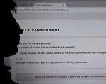 自上周五以来,勒索病毒蔓延全球。周一(5月15日),网络安全研究人员发现,他们发现的技术线索可能和朝鲜有关。(Photo credit should read DAMIEN MEYER/AFP/Getty Images)
