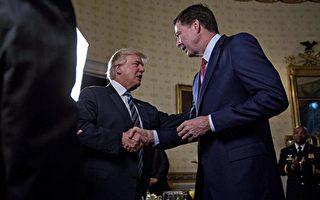 """无论是川普,还是前FBI局长科米,都将是未来国会听证调查""""通俄""""关系的焦点或对象。(Andrew Harrer-Pool/Getty Images)"""
