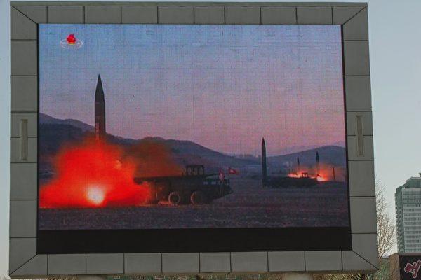 朝鮮試射導彈,韓國新任總統文在寅「強烈譴責」,並表示在朝鮮改變態度之前,不可能與朝鮮對話。(KIM WON-JIN/AFP/Getty Images)