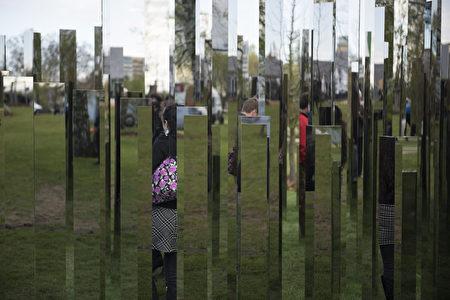 十年一回的柏林國際花園展(STEFFI LOOS/AFP/Getty Images)
