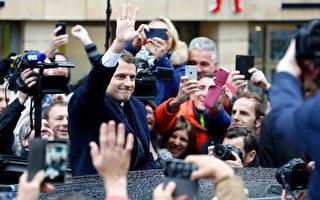 法国民众选择了中间派政治新手马克龙成为下届法国总统。  (Thierry Chesnot/Getty Images)