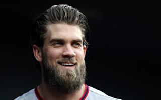 MLB哈波6.5亿合约破大联盟纪录  再见轰退费城人