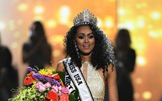 代表哥倫比亞特區(District Columbia)出賽的黑人女科學家麥克勞(Kára McCullough)奪得2017年美國小姐冠軍。(Ethan Miller/Getty Images)