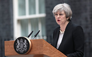 5月22日英國曼徹斯特體育場發生爆炸,22人死亡。英國首相梅誓言打擊恐怖主義。 (Jack Taylor/Getty Images)