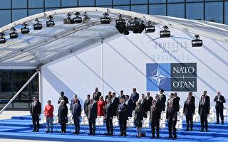 5月25日,28國首腦在北約總部出席峰會。(Justin Tallis - Pool/Getty Images)