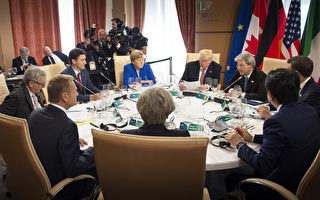 根據法國總統方面週六(5月27日)的消息,七國集團(G7)領袖已經在貿易談判上取得了巨大進展,尤其是在多邊貿易問題上。 (Photo by Guido Bergmann/Bundesregierung via Getty Images)